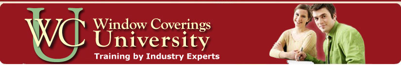 Window Coverings University